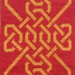 Celtic Knot  red gold I
